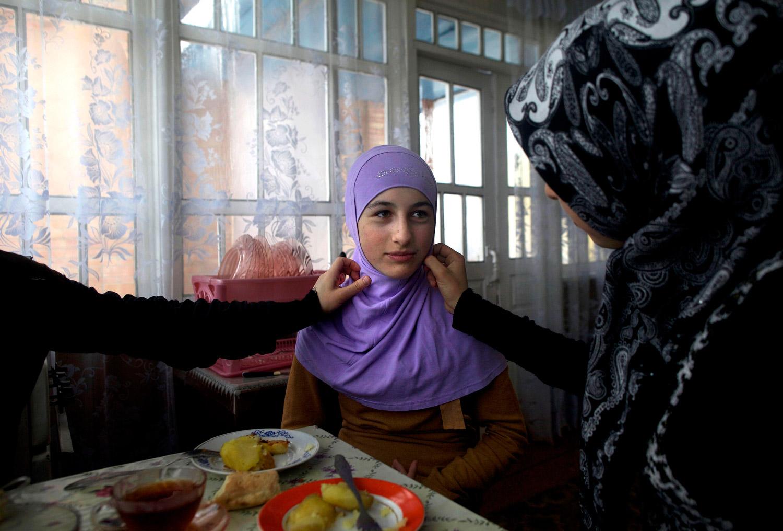 Чеченские девочки порно 2 фотография